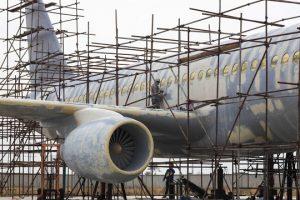 """Un paysan chinois fabrique un avion, une réplique du Airbus A320"""""""