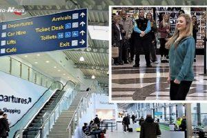 Aéroport de Londres Southend : une attente de voyageurs plutôt animée, agréble et surprenante (Vidéo) :
