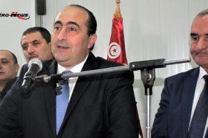 Hichem Ben Ahmed, Ilyes Mnakbi et Thameur Jomni inaugurent la nouvelle unité de production de Tunisie Catering