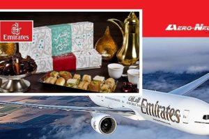 Emirates offre, pendant le mois de Ramadan, 1 million de dattes et 150 000 boîtes d'Iftar composées de délicieux repas nutritifs