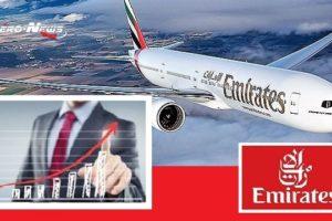 Emirates publie des résultats financiers affichant une activité en forte croissance et un CA record de 29,8 milliards USD