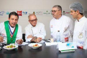 Tablier d'Or 2019 : Les candidats pro de Tunisie Catering se distinguent au niveau des thèmes gourmands de la journée allouée au Catering Aérien