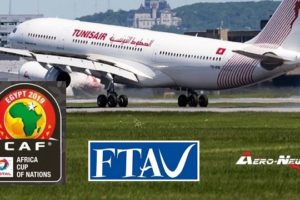 CAN 2019 : des vols spéciaux TUNISAIR pour assister aux demi-finales en Egypte (détails)