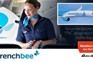 French bee, low cost long-courrier, recrute à Orly, hôtesses de l'air & stewards