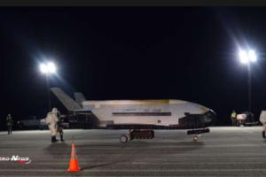 La navette top secret X-37B est de retour sur Terre après un séjour record dans l'espace