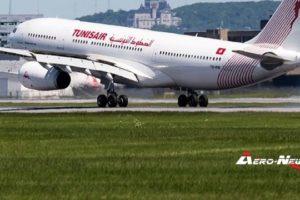 Tunisair : le traffic passagers a chuté de 20% en une année, suite à des restrictions budgétaires