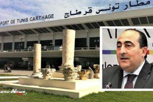 Les travaux d'aménagement à l'aéroport Tunis-Carthage coûteront entre 280 et 300 millions de dinars