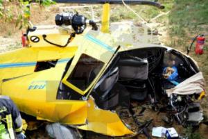 Soukra : Crash d'un hélicoptère pour épandage agricole et décès du pilote